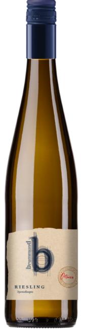 Weinflasche Weingut Brummund Riesling Sprendlingen